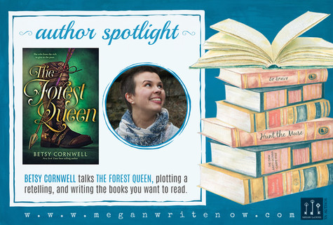 Author Spotlight: Betsy Cornwell talks The Forest Queen