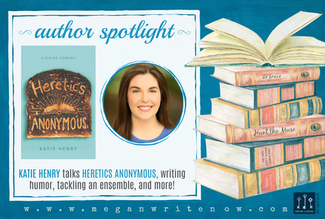 Author Spotlight: Katie Henry talks Heretics Anonymous