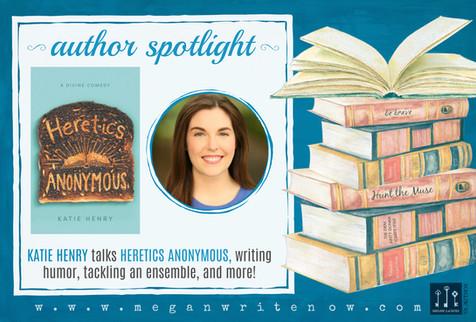 Author Spotlight: Katie Henry talks Heretics Anonymous