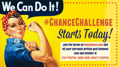 Accountability + Your Writing Goal = #ChanceChallenge