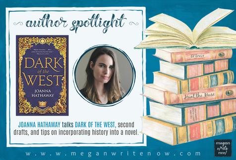 Author Spotlight: Joanna Hathaway talks Dark of the West (Glass Alliance)