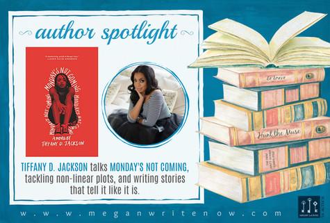 Author Spotlight: Tiffany D. Jackson talks Monday's Not Coming