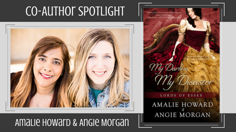 Co-Author Spotlight: Amalie Howard & Angie Morgan on My Darling, My Disaster