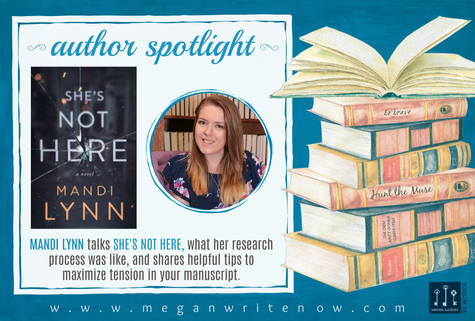 Author Spotlight: Mandi Lynn talks She's Not Here