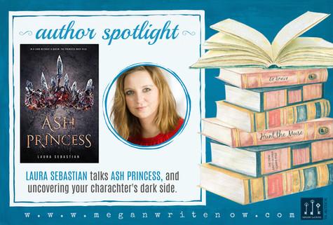 Author Spotlight: Laura Sebastian and Ash Princess