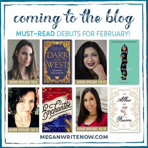 Coming to the Blog in February!