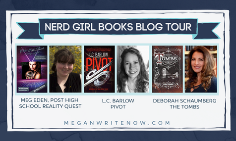 Author Spotlight: Nerd Girl Books Blog Tour & Giveaway!