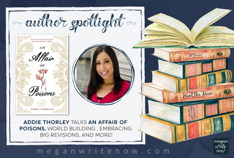 Author Spotlight: Addie Thorley talks An Affair of Poisons