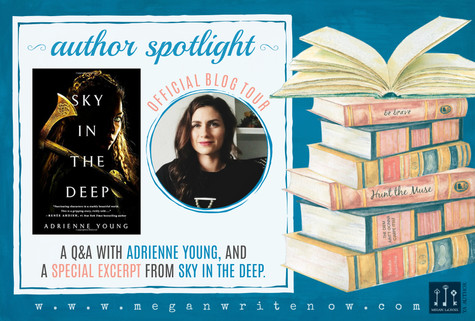 Author Spotlight: Adrienne Young talks Sky in the Deep