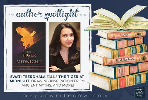 Author Spotlight: Swati Teerdhala talks The Tiger at Midnight