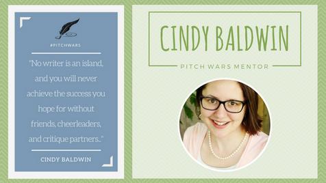 Pitch Wars Mentor Spotlight: Cindy Baldwin