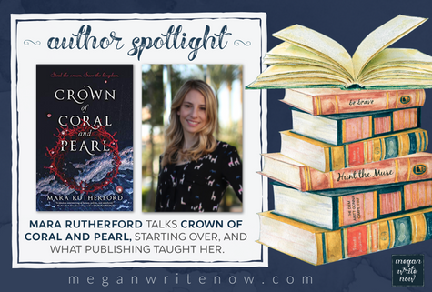 Author Spotlight: Mara Rutherford talks Crown of Coral and Pearl