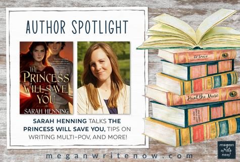 Author Spotlight: Sarah Henning talks THE PRINCESS WILL SAVE YOU
