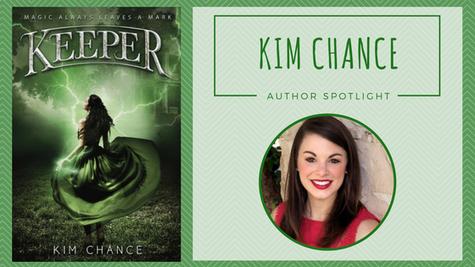 Author Spotlight: Kim Chance talks Keeper