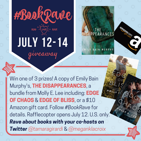 Get Raving for #BookRave in July!