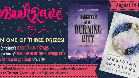 Get Raving for #BookRave in August!