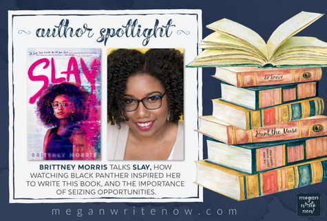 Author Spotlight: Brittney Morris talks Slay