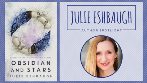 Author Spotlight: Julie Eshbaugh talks Obsidian and Stars