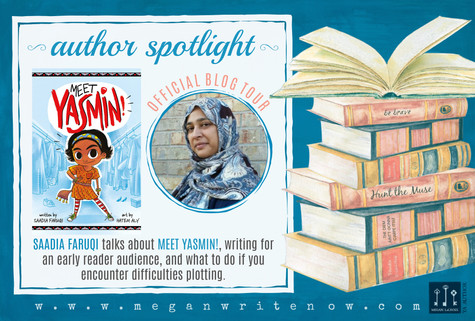 Author Spotlight: Saadia Faruqi talks Meet Yasmin!