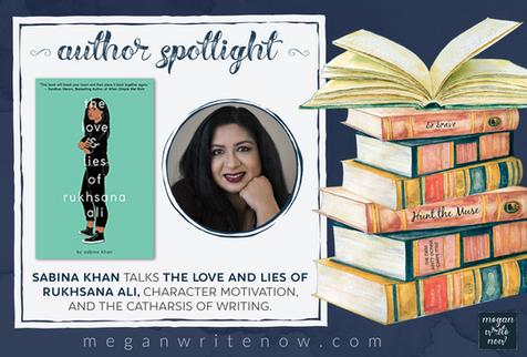 Author Spotlight: Sabina Khan talks The Love and Lies of Rukhsana Ali