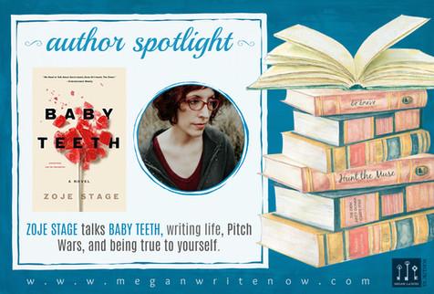 Author Spotlight: Zoje Stage talks Baby Teeth