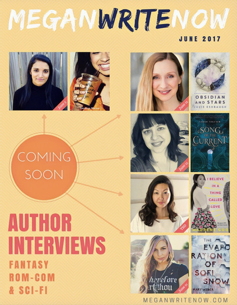 Author Interviews Coming This June!
