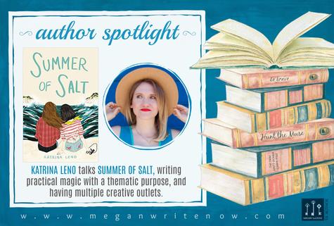 Author Spotlight: Katrina Leno talks Summer of Salt