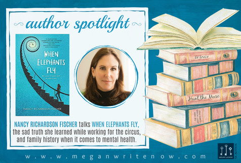 Author Spotlight: Nancy Richardson Fischer talks When Elephants Fly