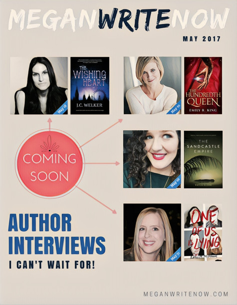 Author Interviews Coming This May!