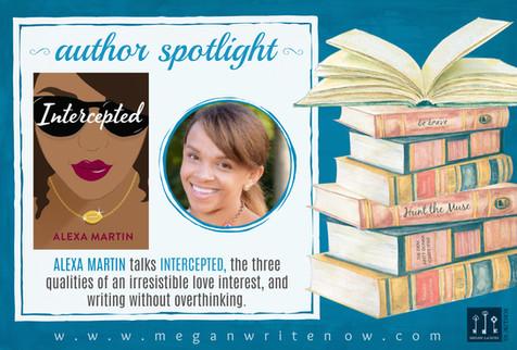 Author Spotlight: Alexa Martin talks Intercepted