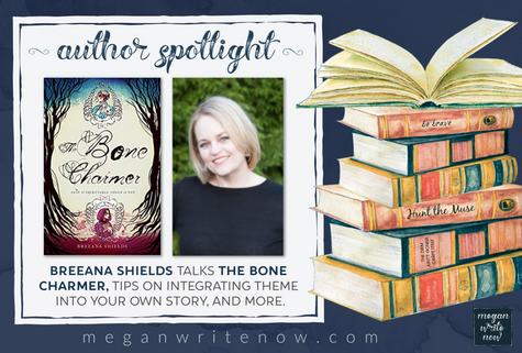 Author Spotlight: Breeana Shields talks The Bone Charmer
