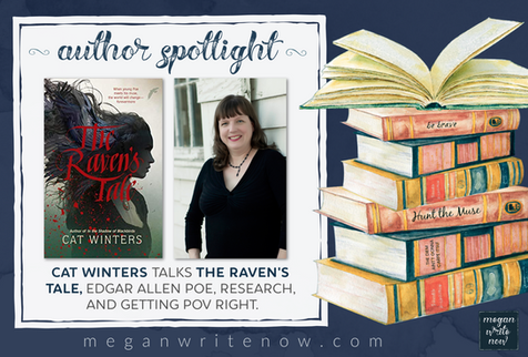 Author Spotlight: Cat Winters talks The Raven's Tale