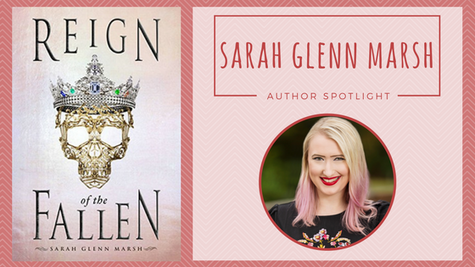 Author Spotlight: Sarah Glenn Marsh talks The Reign of the Fallen