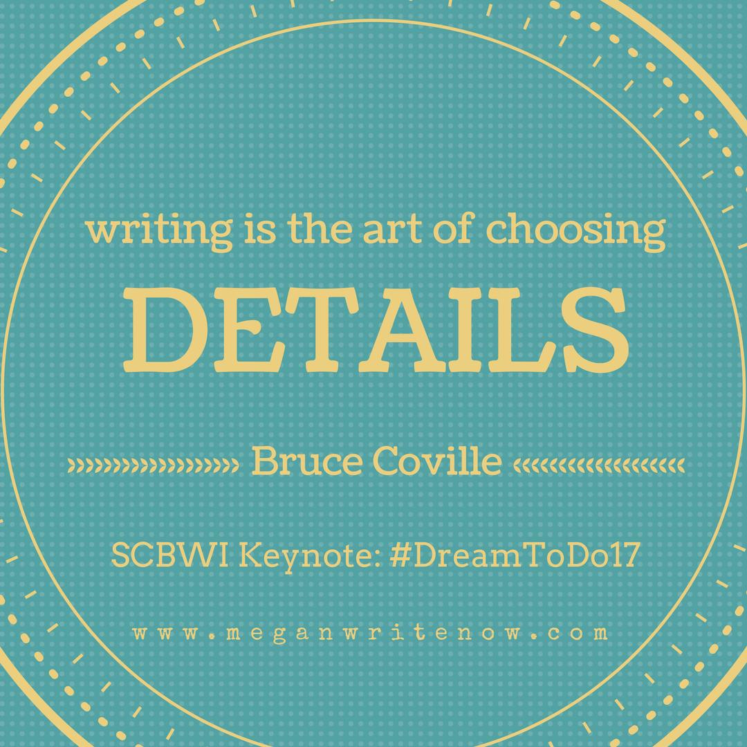 writing is the art of choosing