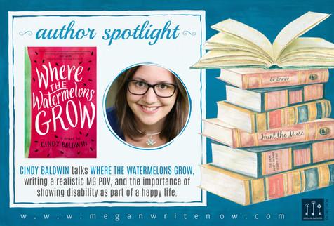 Author Spotlight: Cindy Baldwin talks Where the Watermelons Grow