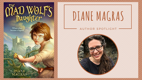 Author Spotlight: Diane Magras talks The Mad Wolf's Daughter