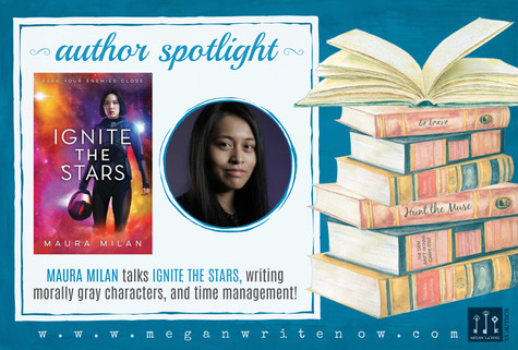 Author Spotlight: Maura Milan talks Ignite the Stars