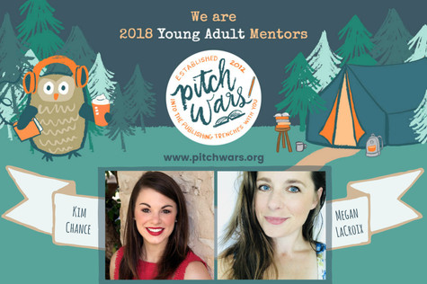 I'm a 2018 Pitch Wars Mentor!