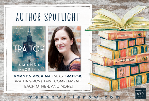 Author Spotlight: Amanda McCrina talks TRAITOR