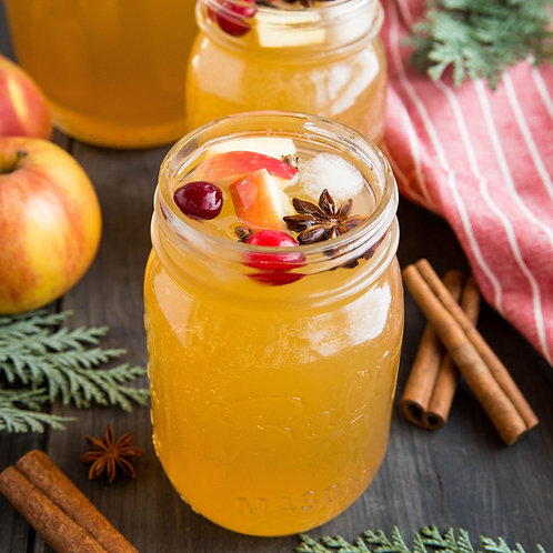 Honey Crisp Bourbon Apple Cider