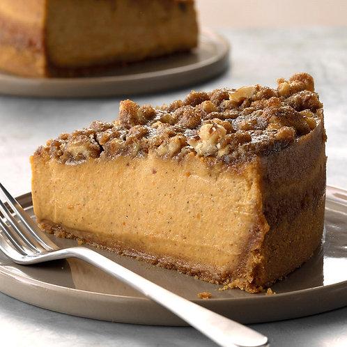 Pumpkin & Toasted Walnut Cheesecake