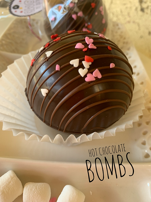 Valentine's Hot Cocoa Bombs - Avail 02/12-02/14 only!