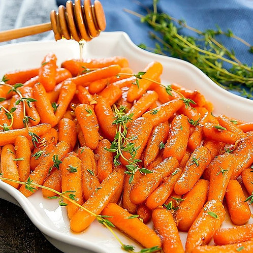 Honey & Cayenne Baby Carrots