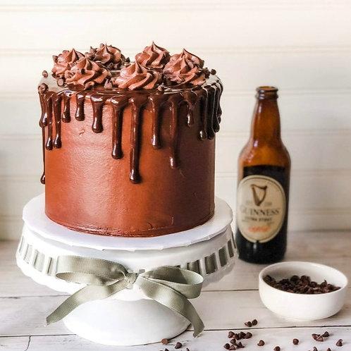 5 Layer Irish Chocolate Stout Cream Cake