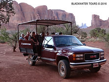 Blackwater Tours Tour Vehicle Monumet Valley