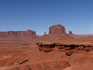 John Ford's Point Monument Valley overlook