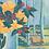 Thumbnail: Liliums à la fenêtre bleue