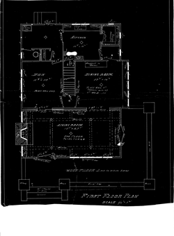 4465 5th Street First Floor Plan