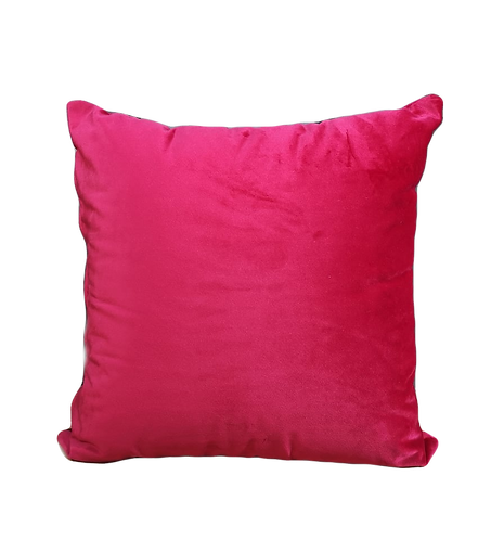 CUSHION VELVET RED | 45x45cm