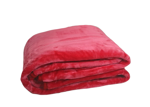 BED BLANKET | FUCSHIA